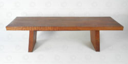 Contemporary Chinese style bench FV145B. Made at Under the Bo workshop. François Villaret design.
