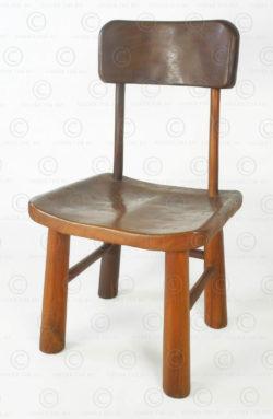 Organic chair FV160A. Made at Under the Bo workshop. François Villaret design.