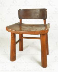 Organic chair FV160B. Made at Under the Bo workshop. François Villaret design.