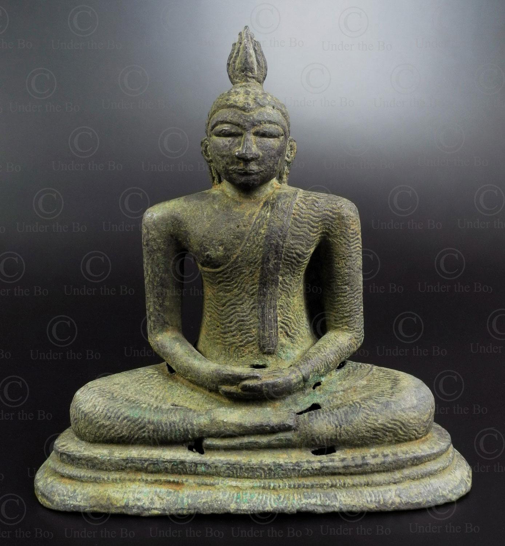 Bouddha bronze Sri Lanka BU572. Sri Lanka.