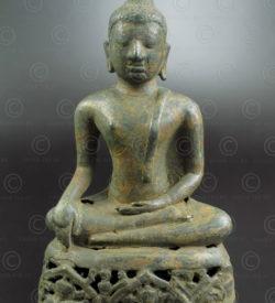 Bouddha Ayutthaya bronze T476. Style et période d'Ayuthaya, Siam (Thaïlande).