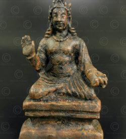 Gandhara bronze Bodhisattva PK252. Ancient Buddhist kingdom of Gandhara. Found in the Swat Valley, Northern Pakistan.