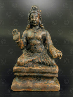Gandhara bronze Bodhisattva PK252. Ancient Buddhist kingdom of Gandhara. Found in the Swat Valley, Northern Pakistan.