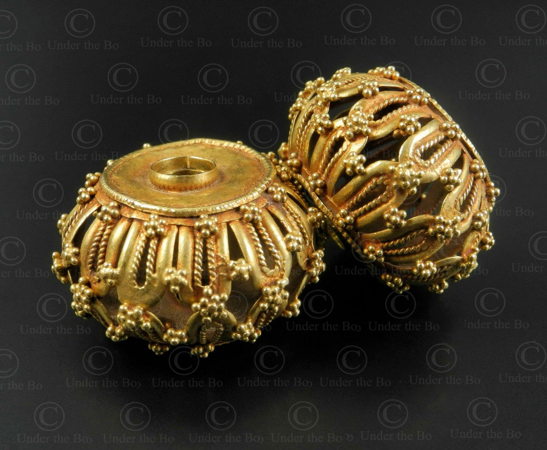 Perles or Gujarat BD295. État du Goudjarat ou Rajasthan, Inde.