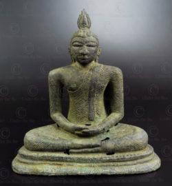 Sri Lanka bronze Buddha BU572. Sri Lanka.