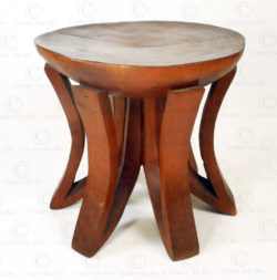 Zambia style stool FV150. Under the Bo workshop