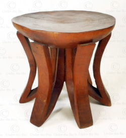 Zambia style stool FV150. Under the Bo workshop