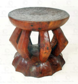 Zande style stool FV65B. Under the Bo workshop