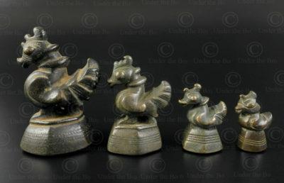 Birds Asian weights OP180. Burma.