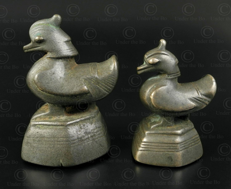 Poids d'Asie oiseaux OP183. Birmanie.