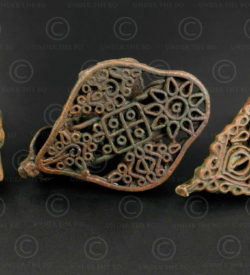 Hindu bronze body stamps IN693. India.