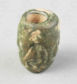 Perle bronze Bactriane 13SH37Q. Nord de l'Afghanistan, anciennement royaume de Bactriane.