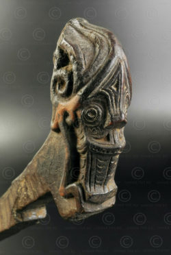 Batak door lock ID105. Batak culture, Sumatra island, Indonesia.