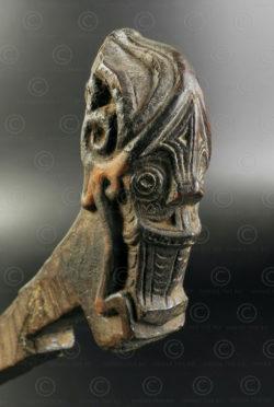 Batak door lock ID105. Batak culture, Sumatra island, Indonesia.