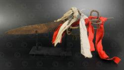 Couteau prêtre Yao YA174. Minorité Yao Lantien. Laos ou Chine du sud.