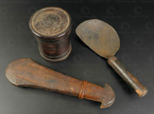 Opium apparatus YA178. Lantien Yao minority. Laos or Southern China.