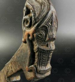 Serrure porte batak ID105. Culture batak, île de Sumatra, Indonésie.