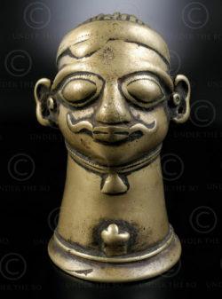 Bronze mukhalingam 16P2B. Karnataka state, Southern India.