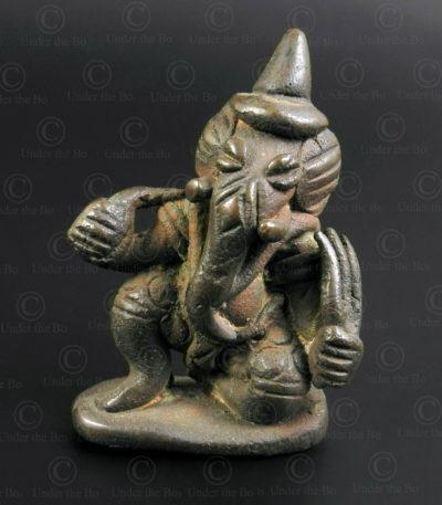 Ganesh laotien bronze LA25A. Laos.