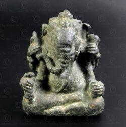 Lao bronze Ganesha LA25B. Laos.