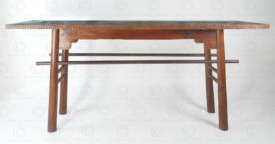 Console de style chinois FV156A. Style chinois moderne stylisé, conçu par François Villaret. Manufacturée à l'atelier Under the Bo.