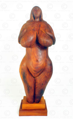 Prehistoric style Venus FV143. Carved at Under the Bo workshop.