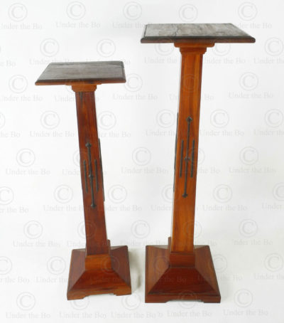 Wooden display stands FV154. Art deco style. Made at Under the Bo workshop.