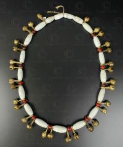 Naga necklace NA216B. Ao or Konyak minority. Nagaland, North-Eastern India.