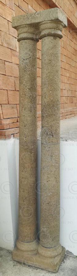 Granite columns 08CT1