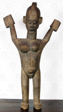 Lobi statue AF40. Burkina Faso, West Africa
