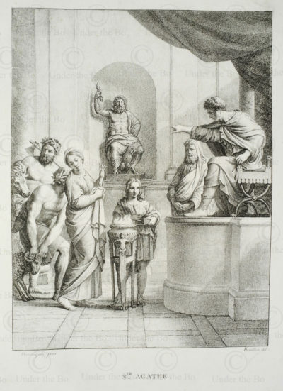 French engraving FR12. France.