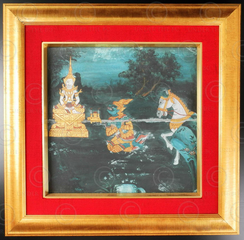 Peinture-de-manuscrit-thai-T281B