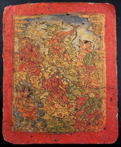 Taskli tibétain TIB149G. Tibet.