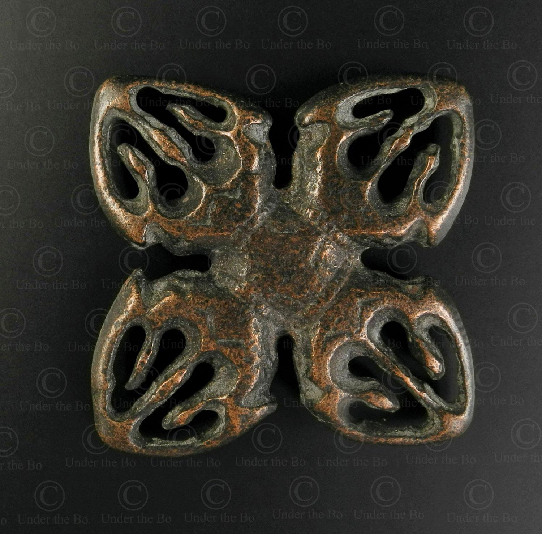 Thogchag scythe TIB178D. Style tibétain, trouvé en Mongolie.