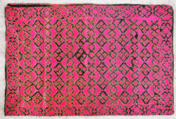 Embroidered Swat pillow PAK34. Swat valley, Northern Pakistan.
