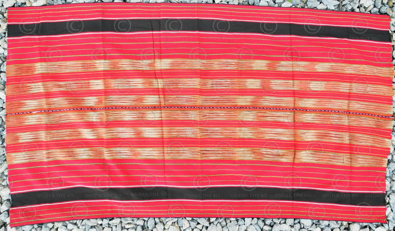 Lawa woven loincloth YA82. Lawa minority, Chiang Mai, Northern Thailand.
