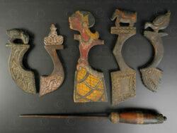 Indonesian weaving tools ID107. Java, Bali, Lombok islands, Indonesia.