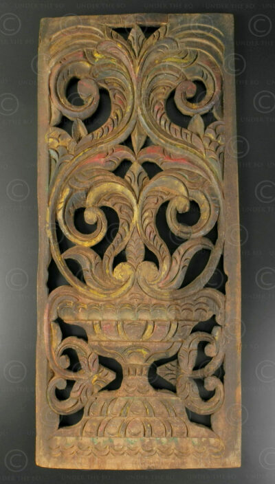 Javanese architectural panel ID78. Central Java, Indonesia.
