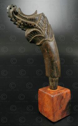 Lombok sword hilt ID84C. Sasak people, Lombok island, Indonesia.