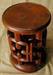 African style stool FVS18. Under the Bo workshop